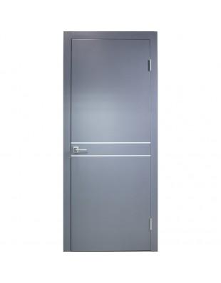 Двери межкомнатные Danapristyle Loft M02 молдинг алюминиевый