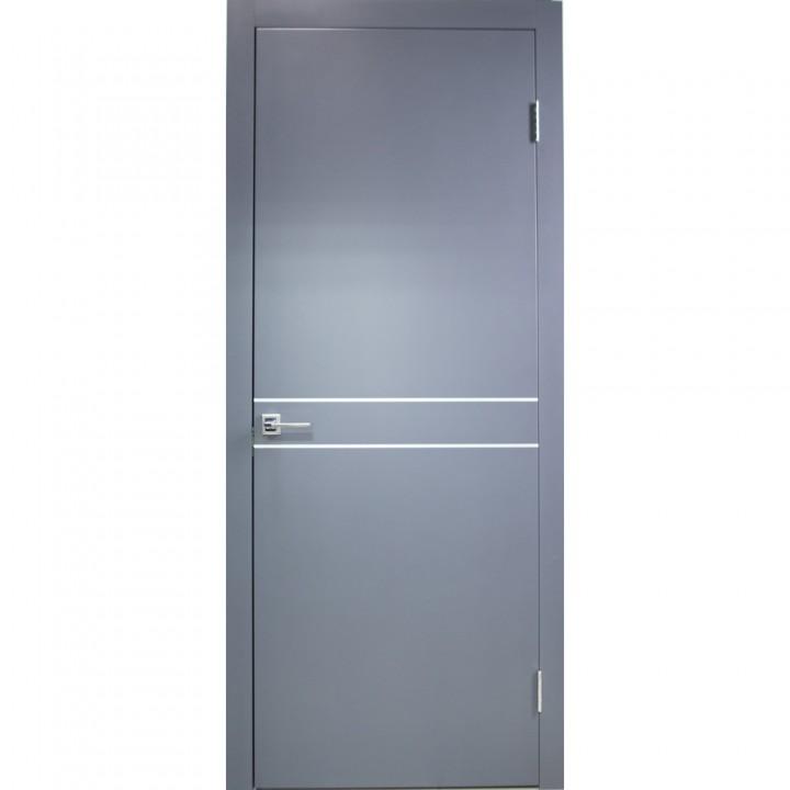 Межкомнатные двери Danapristyle Loft M02 молдинг алюминиевый