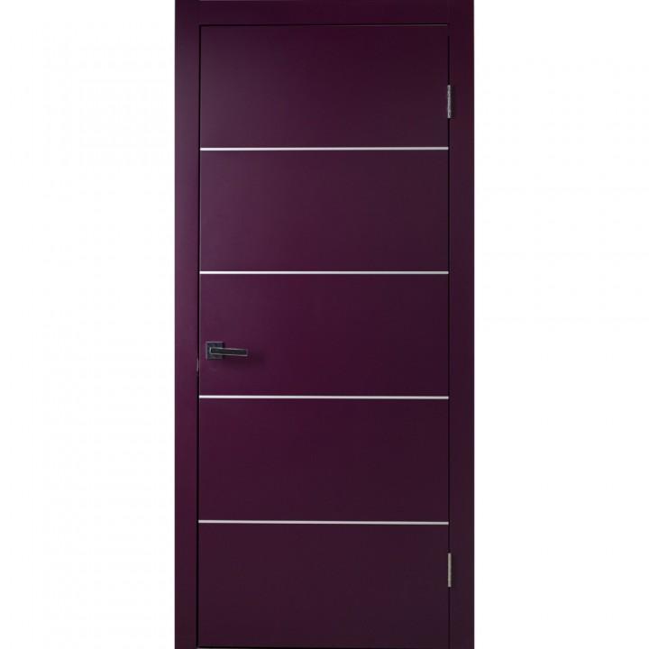 Межкомнатные двери Danapristyle Loft M05 молдинг алюминиевый