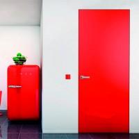 Скрытые двери Danapristyle INV02 крашенные по RAL 9001, 9003,7015, 7047, 1015