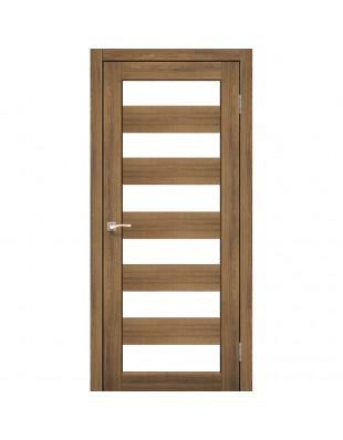 Двери межкомнатные Korfad Porto PR-04 дуб браш
