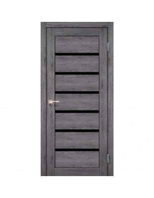 Двери межкомнатные Korfad Porto Deluxe PD-01 дуб марсала