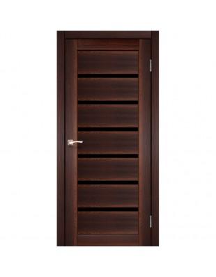 Двери межкомнатные Korfad Porto Deluxe PD-01 орех