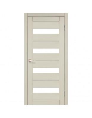 Двери межкомнатные Korfad Porto Deluxe PD-02 дуб беленый