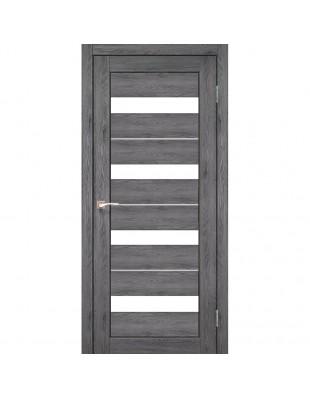 Межкомнатные двери Korfad Porto Deluxe PD-02 дуб марсала