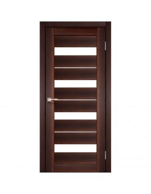 Двери межкомнатные Korfad Porto Deluxe PD-02 орех