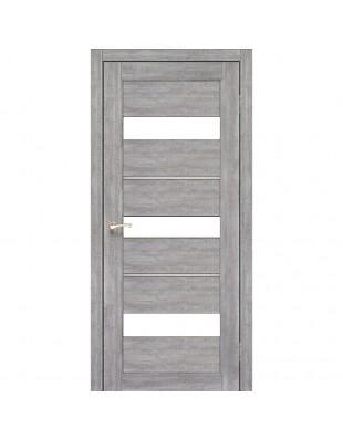 Двери межкомнатные Korfad Porto Deluxe PD-12 эш-вайт