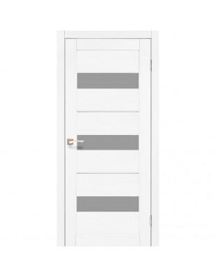 Межкомнатные двери Korfad Porto Deluxe PD-12 ясень белый