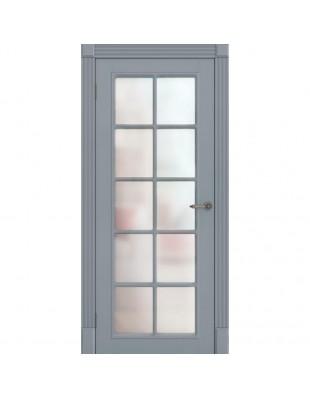 Двери межкомнатные Omega Amore Classic Ницца ПОО белая эмаль
