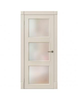 Двери межкомнатные Omega Amore Classic Рим ПО белая эмаль