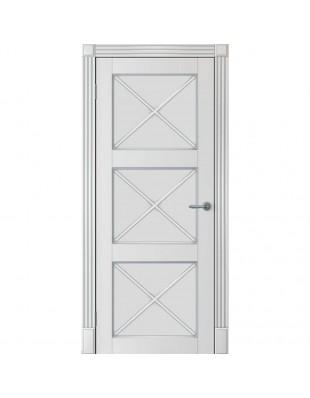 Двери межкомнатные Omega Amore Classic Рим-Венециано ПГ белая эмаль