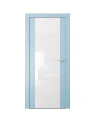 Двери межкомнатные Omega ART-Vision A4 белая эмаль