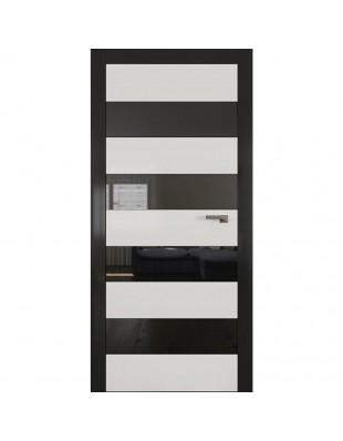 Двери межкомнатные Omega ART-Vision A5 белая эмаль