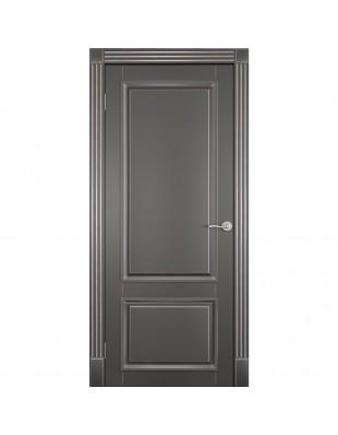 Двери межкомнатные Omega Bravo Милан ПГ белая эмаль