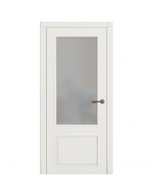Двери межкомнатные Omega Bravo Милан ПО белая эмаль