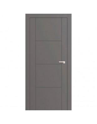 Двери межкомнатные Omega Lines F2 белая эмаль