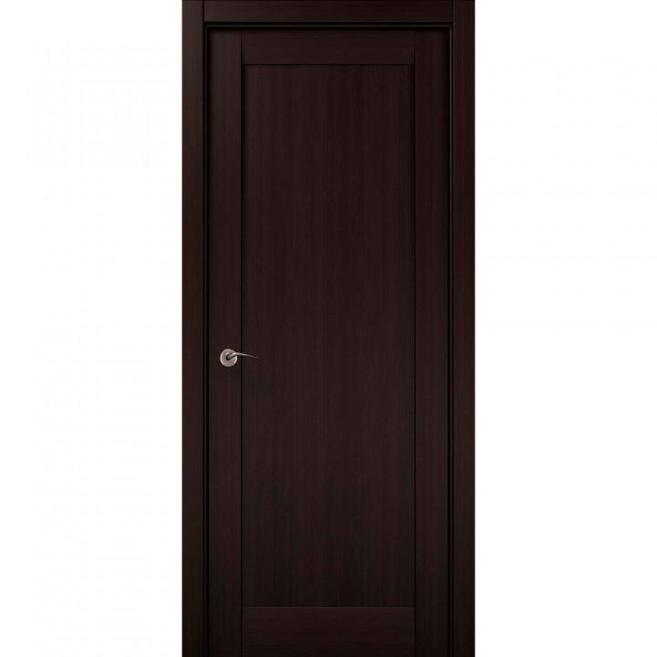 Межкомнатные двери Папа Карло Millenium ML-00Fс венге