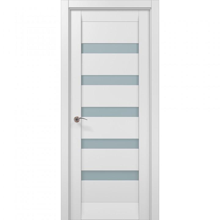 Межкомнатные двери Папа Карло Millenium ML-02с белый матовый