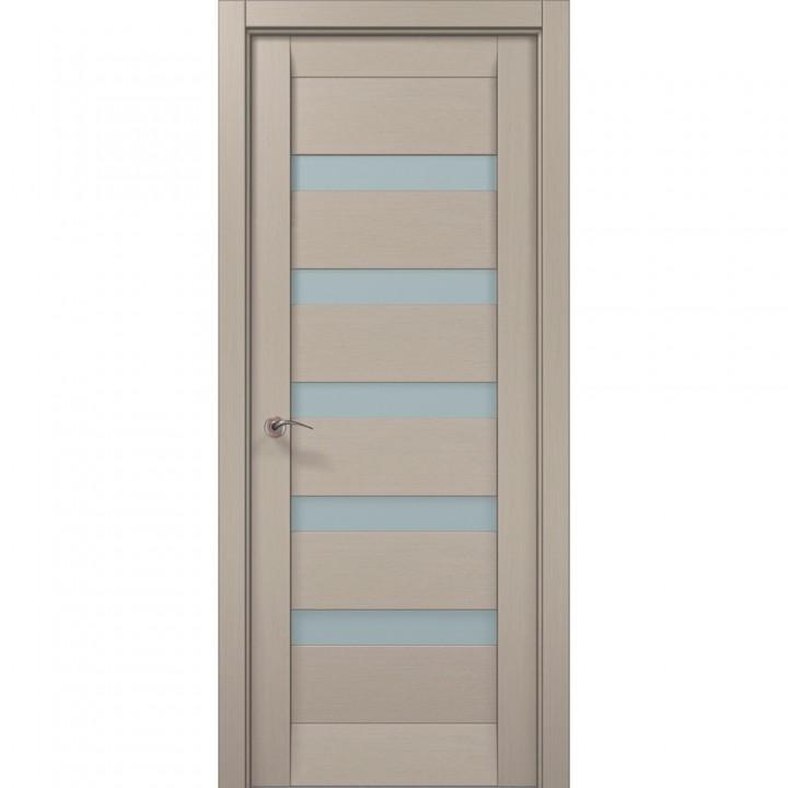 Межкомнатные двери Папа Карло Millenium ML-02с дуб кремовый