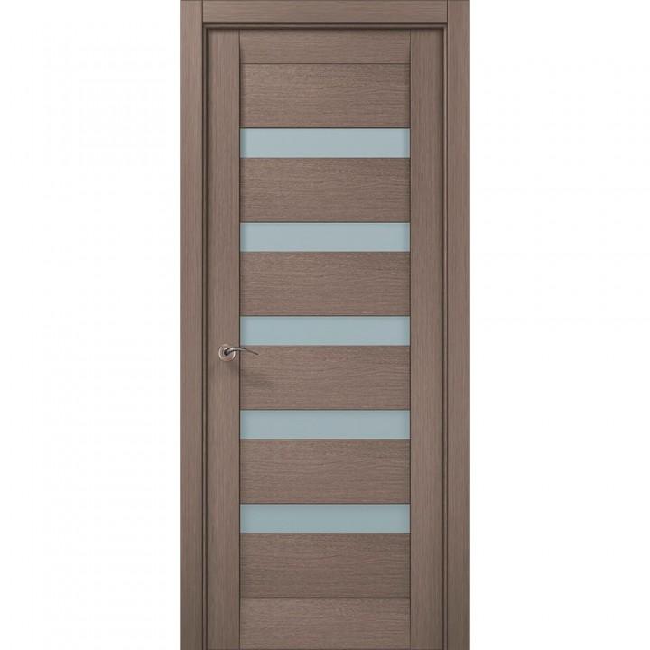 Межкомнатные двери Папа Карло Millenium ML-02с дуб серый брашированный