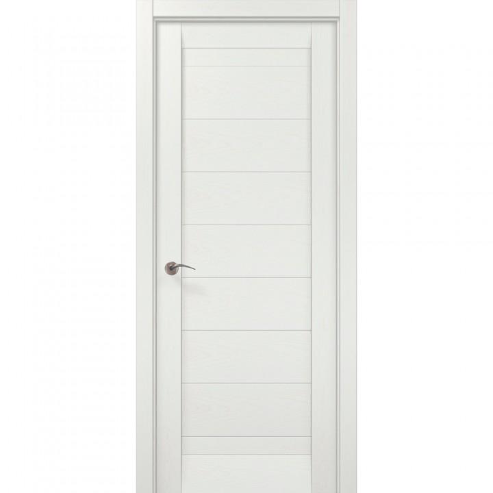 Межкомнатные двери Папа Карло Millenium ML-04с ясень белый