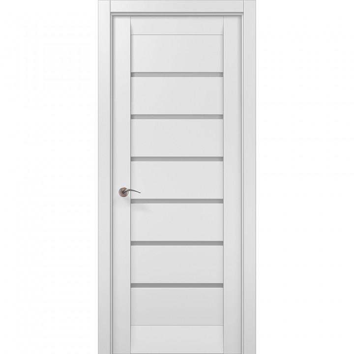 Межкомнатные двери Папа Карло Millenium ML-14с белый матовый