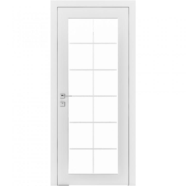 Межкомнатные двери Rodos Cortes Porto белая эмаль