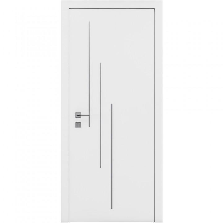 Межкомнатные двери Rodos Cortes Prima 3V белая эмаль