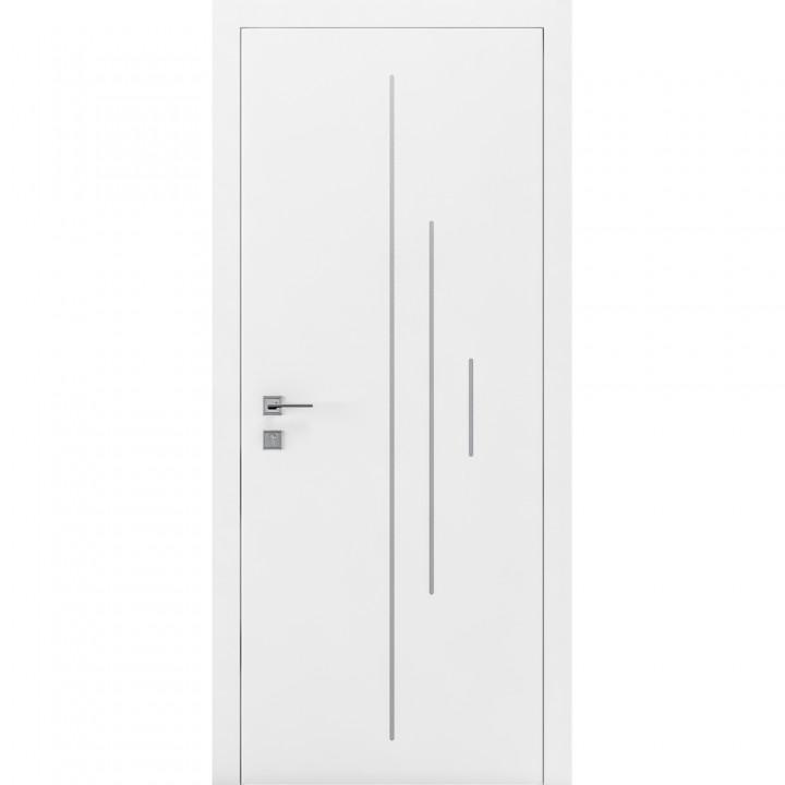 Межкомнатные двери Rodos Cortes Prima 3V1 белая эмаль