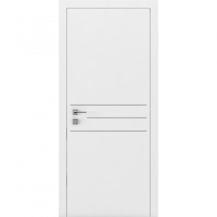 Межкомнатные двери Rodos Cortes Prima 3G белая эмаль