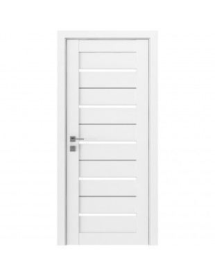 Межкомнатные двери Rodos Modern Lazio белый мат