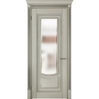 Межкомнатные двери VPorte Onda del Mare 09 стекло белая эмаль