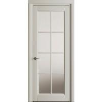 Межкомнатные двери VPorte Vita di Legno 01 стекло белая эмаль