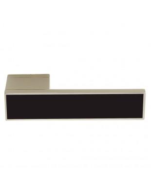 Дверные ручки Ilavio 2366 хром матовый/черный