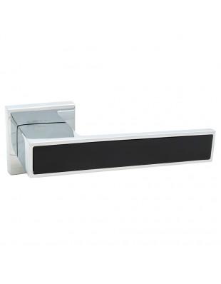 Дверная ручка Rich-Art 358 R64 CP-FB хром/черный