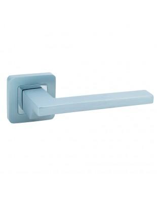 Дверная ручка Rich-Art Z6232-ZR23 MSCB-CP матовый хром/хром