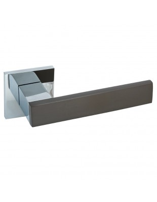 Дверная ручка Rich-Art Z6391-ZR27 MSB-CP графит/хром