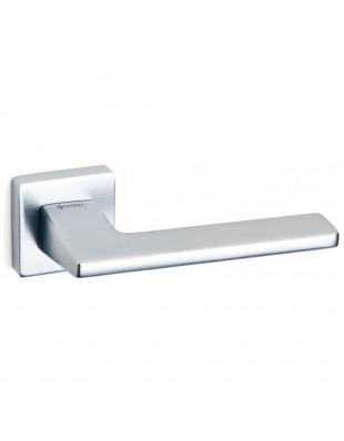 Дверные ручки System ZETTA HA194RO11 CBMX матовый хром браш