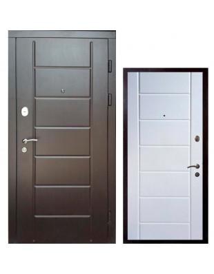 Входные двери Редфорт Канзас двухцветный